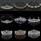 Hot Wedding Bridal Princess Crystal Rhinestone Prom Hair Tiara Crown Headband