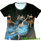 EDGAR DEGAS Blue Dancer Ballerina Dance BALLET T SHIRT FINE ART PRINT PAINTING