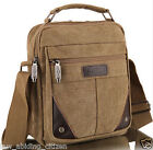 Shoulder Bag Canvas Men Casual Fashion Business Briefcase Messenger Crossbody