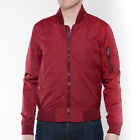 Mens Schott NYC MA-1 Bordo Bomber Jacket MA1