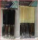 Reusable & Disposable Plastic Cutlery - Knives - Set of 12