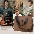 Men's Women Vintage Canvas Laptop Bag Handbag Messenger Bag Satchel Briefcase cc