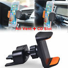 360° 2 in 1 Car Air Vent/CD Slot Mount Holder Stand for Cel