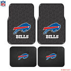 New NFL Buffalo Bills Car Truck Front Rear Rubber Floor Mats 2 & 4 pcs Set