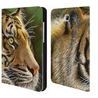 OFFICIAL CHUCK BLACK BIG CATS LEATHER BOOK CASE FOR SAMSUNG GALAXY TABLETS