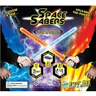 "Space Sabers Inflatable Galactic Toys in 2"" Capsules (CHOOSE QTY BELOW)+Display"