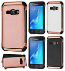 Samsung Galaxy Express 3 IMPACT HYBRID Plating Protector Case Skin Phone Cover