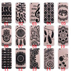 Clear Painted Black Soft TPU Gel Rubber Silicone Slim Back Case Cover For Phone
