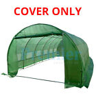 6 SECTION POLYTUNNEL POLY TUNNEL GREENHOUSE 6M X 3M COVER ONLY