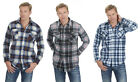 Magneto Adults Mens Polar Fleece Check Shirt - 3 Colours