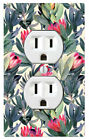 Succulent Pattern Wall Plate Toggle Decor Switch Plate Cover