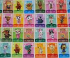 NEW amiibo - Animal Crossing - Series 4 Cards Pick Your Own 317-350 Nintendo 3DS