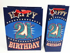 Age 21st Gift Bag Bottle Large Wrap Quality Giftbag Present Bags Birthday Male