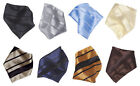 Vesuvio Napoli Handkerchief Pocket Square Hanky Men's Hankerchiefs Woven Design