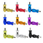 Tattoo Machine Aluminum Alloy Handle Grip Tube Tip With Back Stem 25mm Hot FM