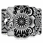 OFFICIAL PETER BARREDA BLACK AND WHITE MANDALAS HARD BACK CASE FOR HTC PHONES 2