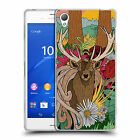 "OFFICIAL STEVE ""SWADE"" WADE ANIMAL ILLUSTRATIONS SOFT GEL CASE FOR SONY PHONES 1"