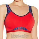 Freya Active Underwired Moulded Crop Top Sports Bra Red 4004 Select Size