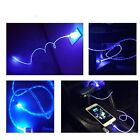 2x 3FT led light Up USB Cable Sync Data Charging Cord For Apple Iphone 5 6S Plus