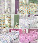 Children's Clearance Duvet / Quilt Cover Bedding Sets Or Matching Curtains