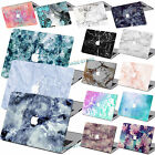 "Rubberized Hard Case Marble Painted Laptop Cover For Macbook Air 11""12""Pro 13""15"