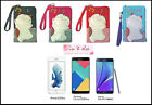 5.5 - 6.0 in. Phone / iPhone 6s Plus / Galaxy A8 A9 Pro Bag Case Pouch LUCKY CAT
