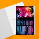 ARABIC GREETING CARDS - BIRTHDAY COLLECTION - LIVE IT UP