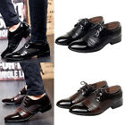 Men's Dress Formal Artificial Leather Shoes Business Dress Fashion Casual Shoes