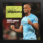 Vincent Kompany Signed Manchester City Captain Armband Display