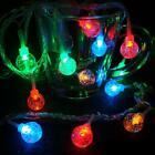 20/40LED Colorful Fairy Waterproof Outdoor String Lights 2.5m battery Powered