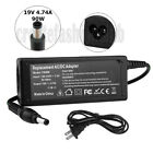 90W 19V 4.74A AC Adapter Charger For Toshiba Satellite PA3516U-1ACA Power Cord