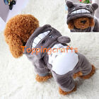 Hot Winter Hoodie Costume Dog Clothes Pet Jacket Coat Puppy Cat Costumes Apparel