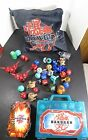 Bakugan Lot of battle Brawlers 50+ Arena 100+ Cards Green case