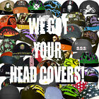 Unisex Motorcycle Dirt Biker Hat Do Find Bandana Doo Rag Du Head Skull Cap Lot