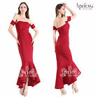 Vintage Women Retro Wiggle Pinup Formal Evening Cocktail Wedding Long Gown Dress