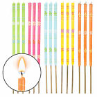 3 x Garden Torch Wax Candle Large Outdoor Torch Lantern Patio Party Beach BBQ