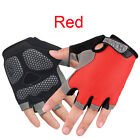 New Fashion Cycling Bike Bicycle GEL Shockproof Sports Half Finger Glove S M L