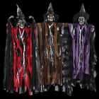 Halloween Props Big Skeleton Emitting Voice Control Scream Hanging Ghost Witches
