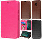 Motorola Moto G4 Play Premium Wallet Case Pouch Flap STAND Cover +Screen Guard