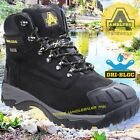 MENS WATERPROOF SAFETY BOOTS Amblers Steel Toecap SAFETY FS987 +Metatarsal Safe