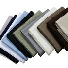 (Set of 2) 100% Cotton Pillowcase Set 300 Thread Count Soft Solid Pillowcases image