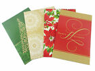 Christmas Gift Box Shirt Boxes 4 Count Traditional Designs Holiday Wrap New