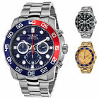 Invicta Men's Pro Diver Chronograph SS with Colored Dial and Bezel