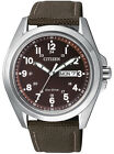 Citizen Eco-Drive 100m Men's Canvas Watch AW0050-40W
