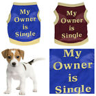 1 Pcs Puppy Vest T-Shirt Coat Mini Pet Dog Clothes Fashion Apparel Costumes New