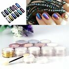 New Mirror Chrome Effect Nails Powder 3g With 2 Brush Tool Nail Art New F5