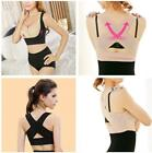 Sexy Women's Body Shaper Breast Push Up Bra Back Support Posture Correction LJ
