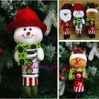 2016 Christmas Xmas Santa Snowman Tree Ornaments Hanging Pendant Ornament LJ