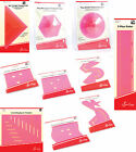 Sew Easy Hot Pink Acrylic Templates Quilters Stitchers Crafters Patchwork Ruler