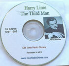 Orson Welles -Harry Lime The Third Man 1 CD 52 Shows-Old Time Radio-1951-1952